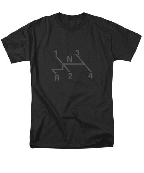 Volkswagen 4 Speed Shift Pattern Men's T-Shirt  (Regular Fit) by Ed Jackson