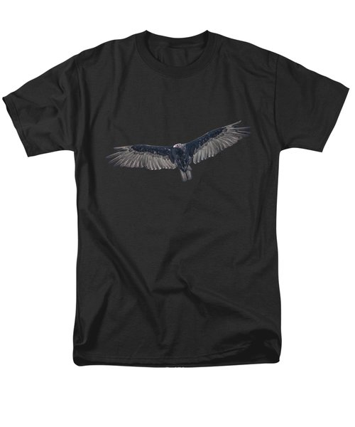 Vulture Over Olympus Men's T-Shirt  (Regular Fit) by Nick Collins