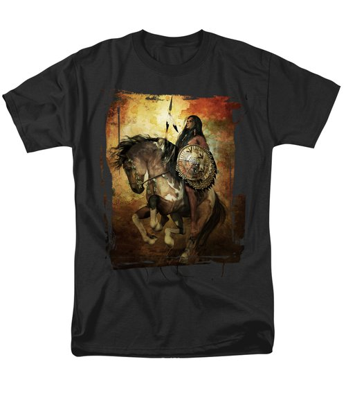 Warrior Men's T-Shirt  (Regular Fit) by Shanina Conway