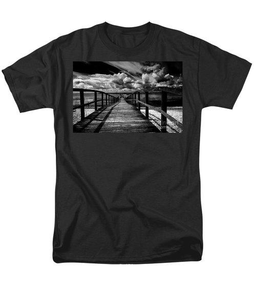 Wharf at Southend on Sea T-Shirt by Sheila Smart