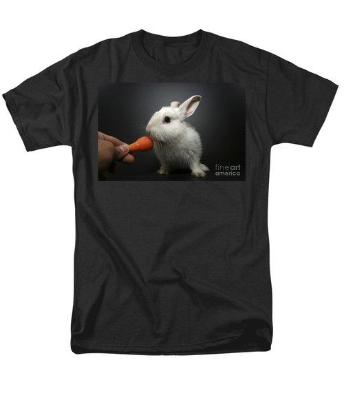 white rabbit  T-Shirt by Yedidya yos mizrachi