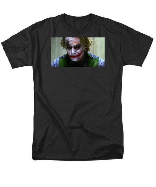 Why So Serious Men's T-Shirt  (Regular Fit) by Paul Tagliamonte
