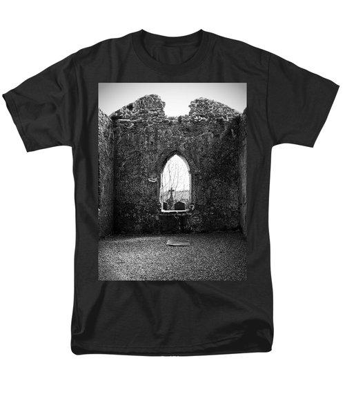 Window at Fuerty Church Roscommon Ireland T-Shirt by Teresa Mucha