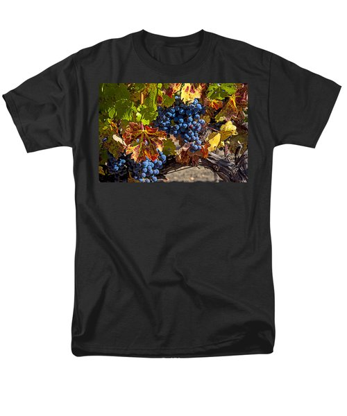 Wine grapes Napa Valley T-Shirt by Garry Gay