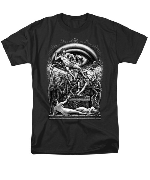 Winya No. 40 Men's T-Shirt  (Regular Fit) by Winya Sangsorn