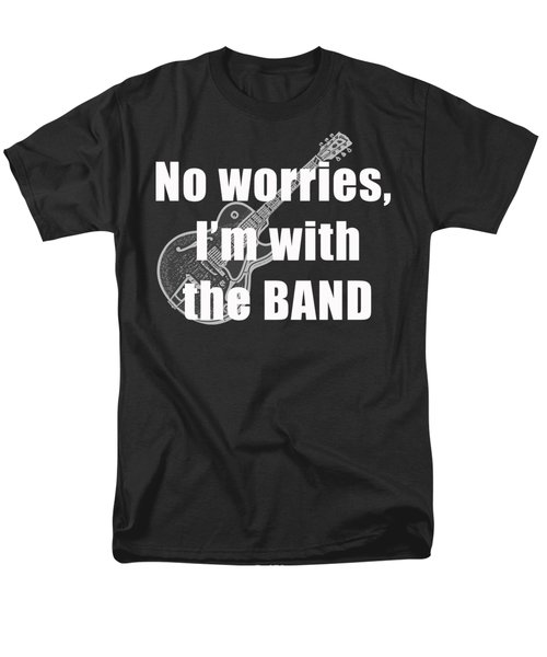 With The Band Tee T-Shirt by Edward Fielding