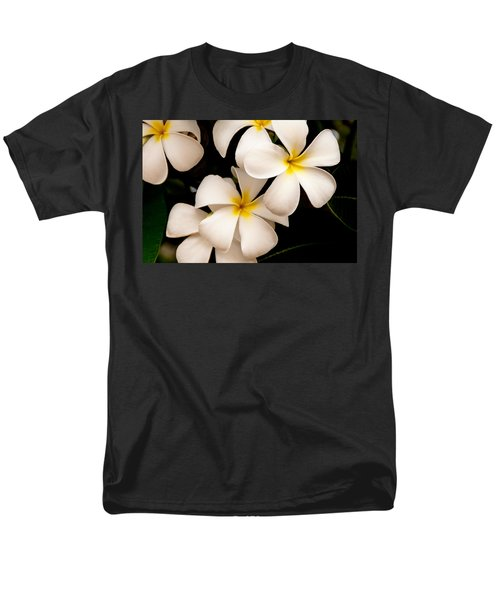 Yellow and White Plumeria T-Shirt by Brian Harig