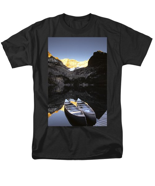 Yoho National Park, Lake Ohara, British T-Shirt by Ron Watts