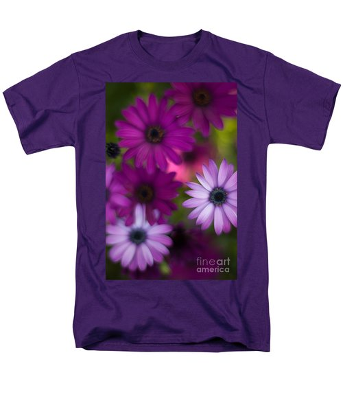 African Daisy Collage T-Shirt by Mike Reid