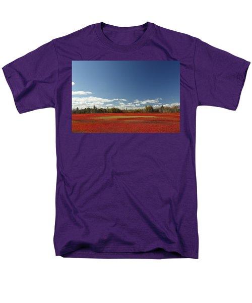 Autumn Blueberry Field Maine T-Shirt by Scott Leslie