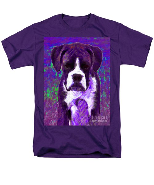 Boxer 20130126v6 T-Shirt by Wingsdomain Art and Photography