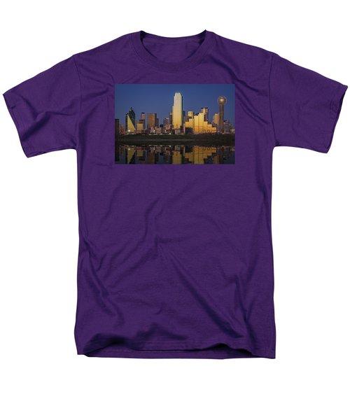 Dallas At Dusk Men's T-Shirt  (Regular Fit) by Rick Berk