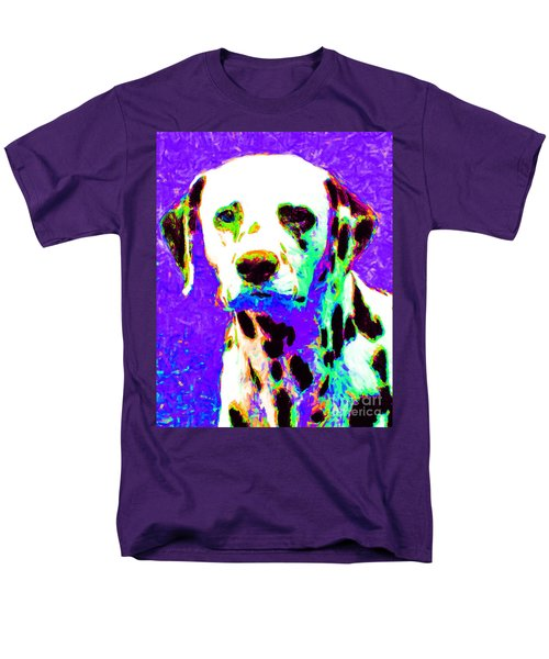 Dalmation Dog 20130125v4 T-Shirt by Wingsdomain Art and Photography