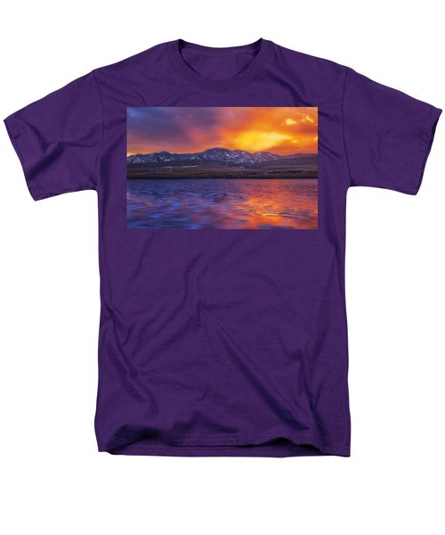 Fire and Ice T-Shirt by Darren  White