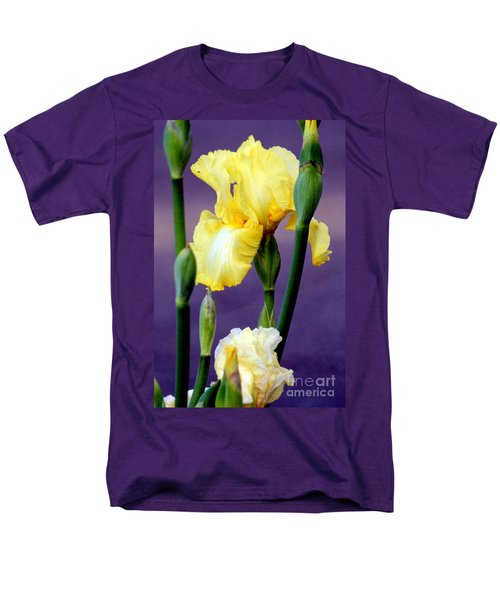 I Only Have Iris for You T-Shirt by Kathy  White