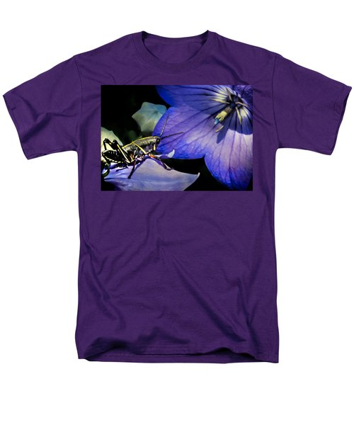 Contemplation Of A Pistil Men's T-Shirt  (Regular Fit) by Karen Wiles