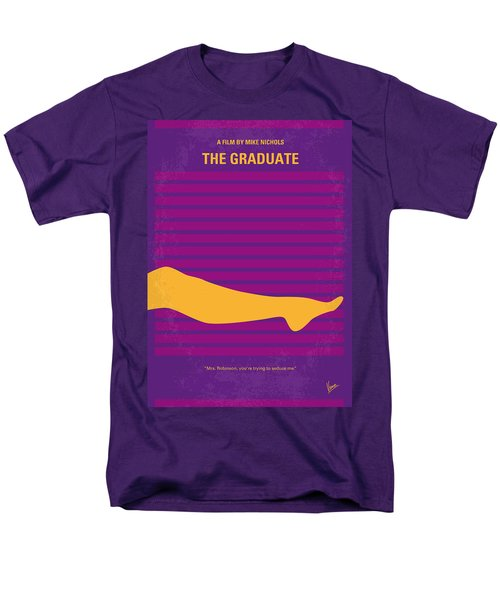 No135 My THE GRADUATE minimal movie poster T-Shirt by Chungkong Art