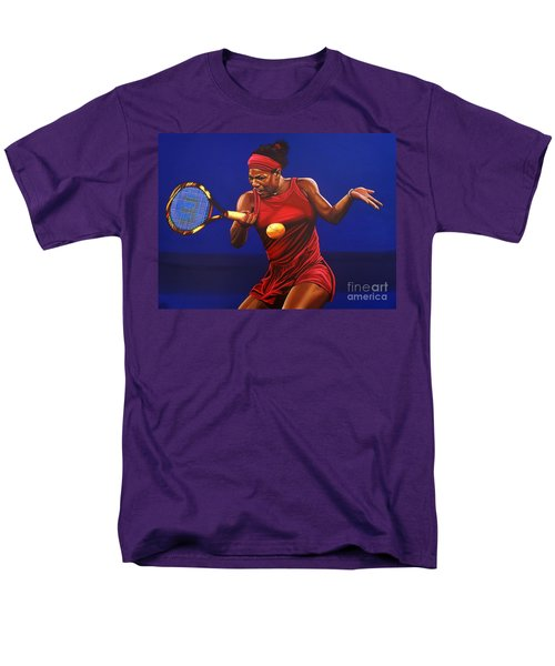 Serena Williams painting T-Shirt by Paul  Meijering