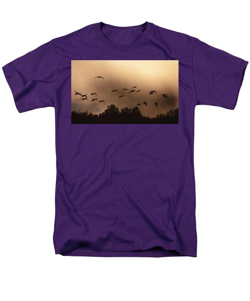 SUNRISE FOG AND INCOMING T-Shirt by Skip Willits