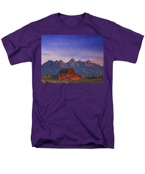 Teton Sunrise T-Shirt by Darren  White