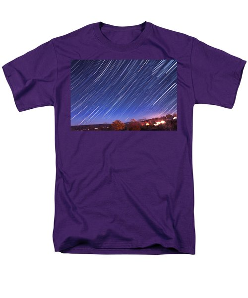 The star trail in Ithaca T-Shirt by Paul Ge