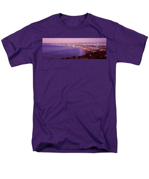 View Of Los Angeles Downtown Men's T-Shirt  (Regular Fit) by Panoramic Images