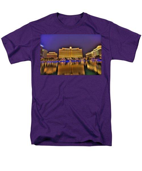 Belagio Las Vegas T-Shirt by Nicholas  Grunas