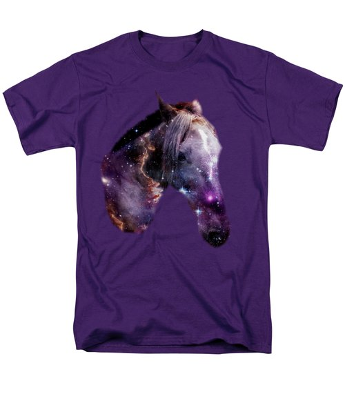Horse in the Small Magellanic Cloud T-Shirt by Anastasiya Malakhova