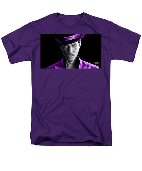 Prince Tribute Men's T-Shirt  (Regular Fit) by Marvin Blaine