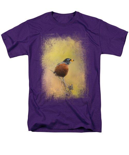 Berries In The Woods Men's T-Shirt  (Regular Fit) by Jai Johnson