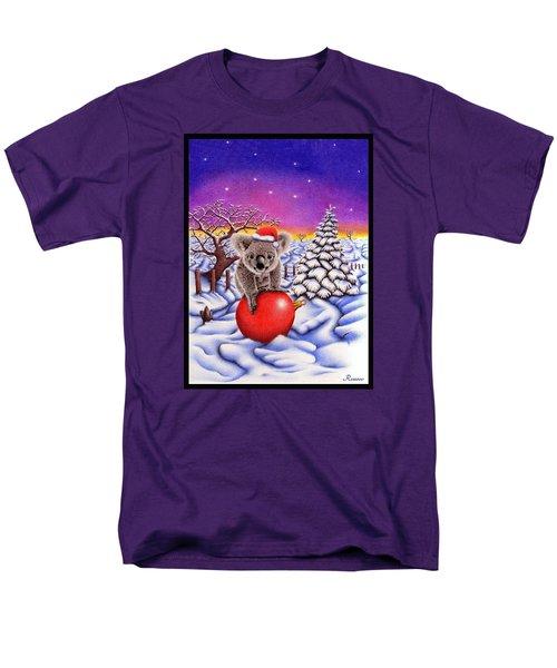 Koala On Ball Men's T-Shirt  (Regular Fit) by Remrov