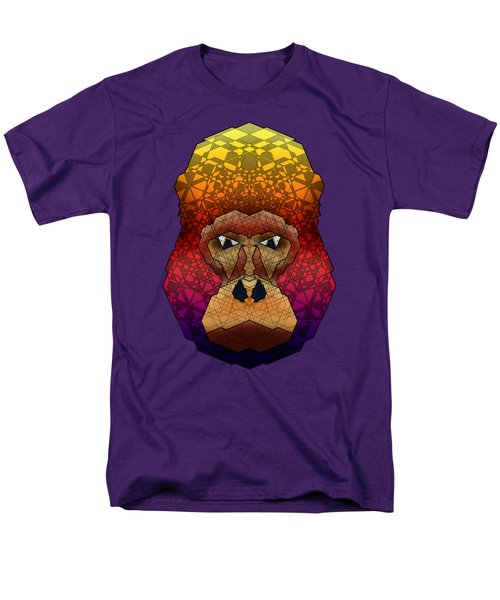 Mountain Gorilla Men's T-Shirt  (Regular Fit) by Dusty Conley