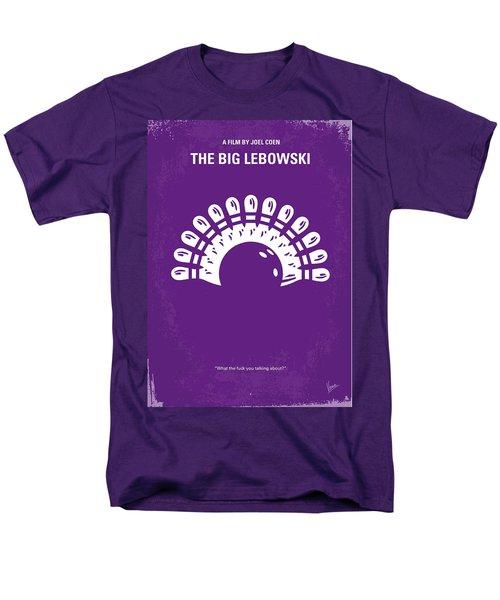 No010 My Big Lebowski minimal movie poster T-Shirt by Chungkong Art