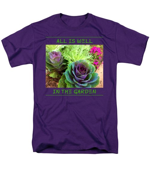 The Healing Garden Men's T-Shirt  (Regular Fit) by Korrine Holt