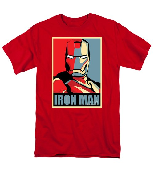 Iron Man T-Shirt by Caio Caldas