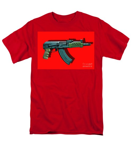 Assault Rifle Pop Art - 20130120 - v1 T-Shirt by Wingsdomain Art and Photography