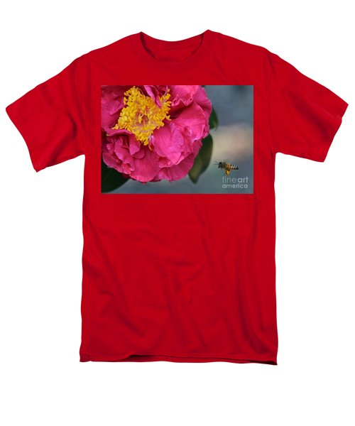 Camellia with Bee T-Shirt by Carol Groenen