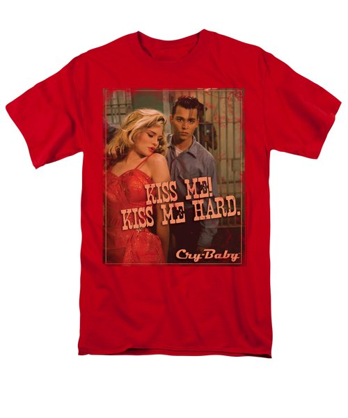 Cry Baby - Kiss Me Men's T-Shirt  (Regular Fit) by Brand A