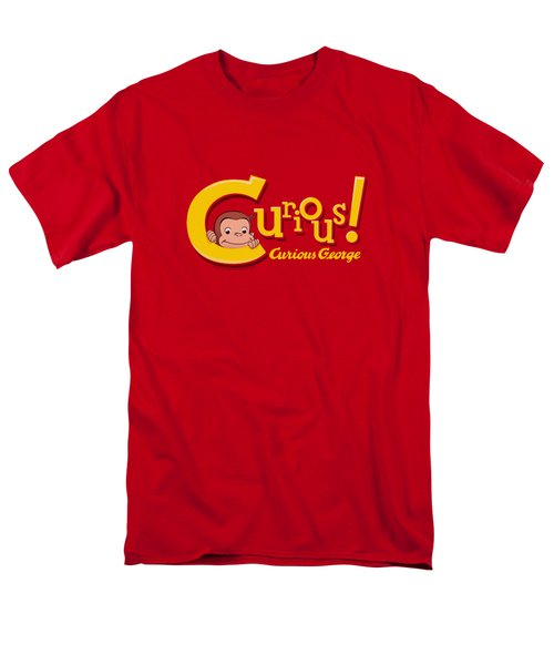 Curious George - Curious Men's T-Shirt  (Regular Fit) by Brand A