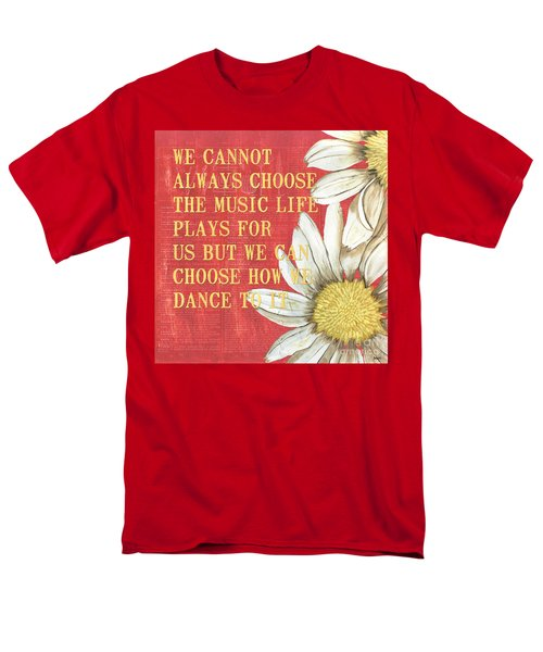 Dictionary Floral 1 T-Shirt by Debbie DeWitt