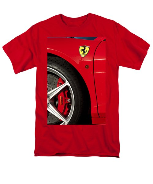 Ferrari Emblem 3 T-Shirt by Jill Reger