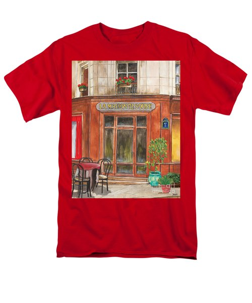 French Storefront 1 T-Shirt by Debbie DeWitt
