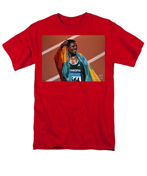 Haile Gebrselassie T-Shirt by Paul  Meijering