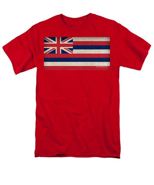 Hawaii State Flag  T-Shirt by Pixel Chimp