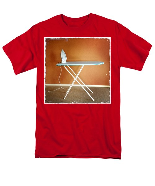 Iron on board T-Shirt by Les Cunliffe