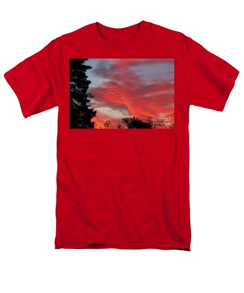 Lobster Sky T-Shirt by Barbara Griffin