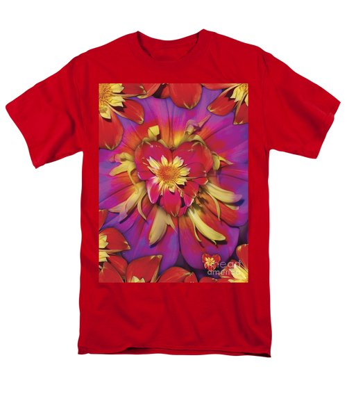 Loveflower Orangered T-Shirt by Alixandra Mullins