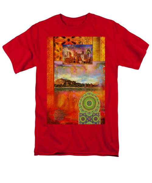 Morocco Heritage POster T-Shirt by Catf