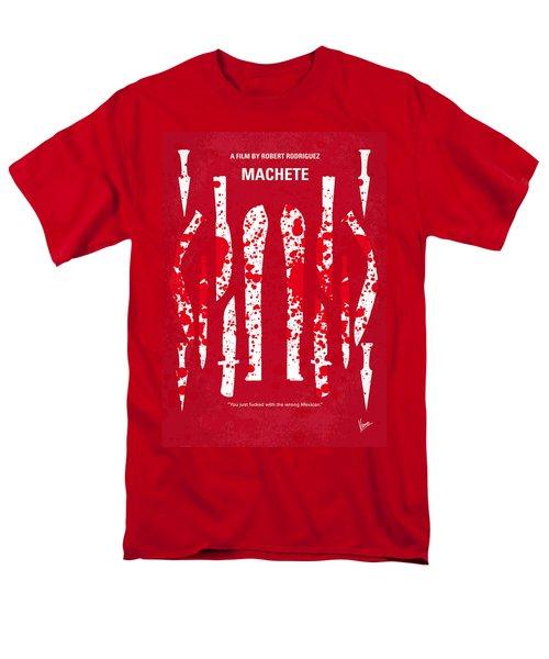 No114 My Machete minimal movie poster T-Shirt by Chungkong Art