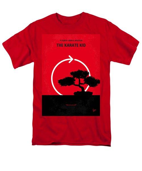 No125 My KARATE KID minimal movie poster T-Shirt by Chungkong Art
